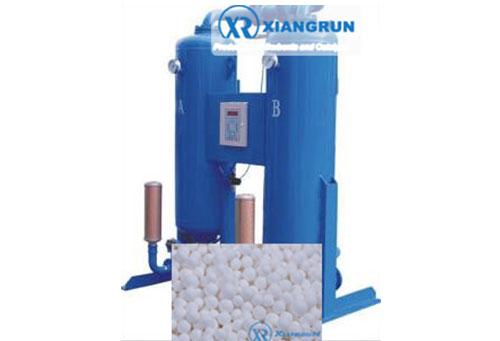 Heatless dryer activated alumina dessicant